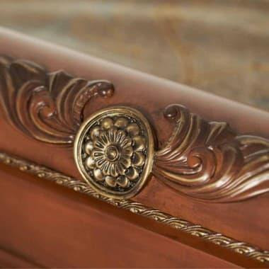 Кровать в форме санок Размер Cal King