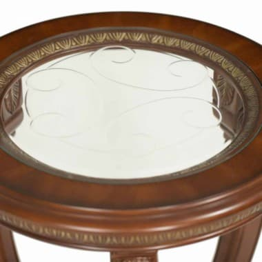Круглый приставной столик