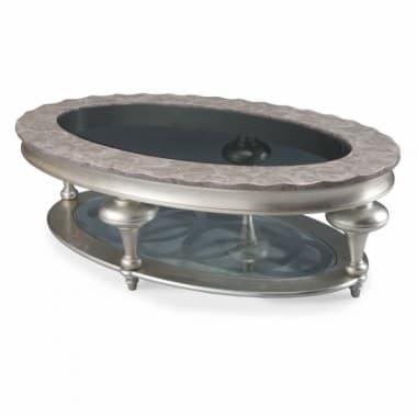 Стол коктейльный овальный Black Onyx