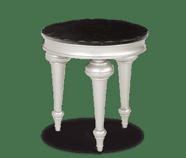 Стол приставной круглый Black Onyx