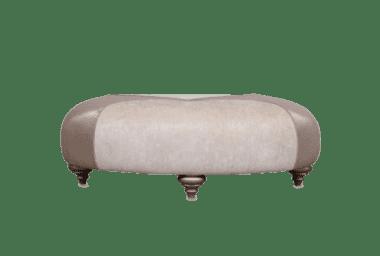 Пуф - коктейльный столик Camella, Oro/Frost