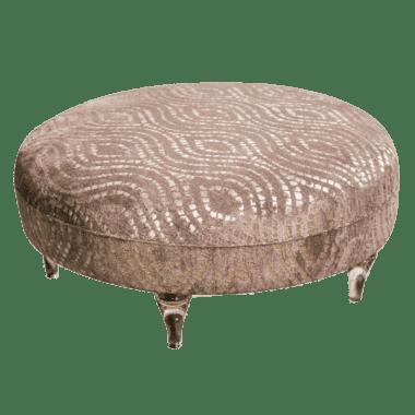 Пуф - коктейльный столик, цвет Mink