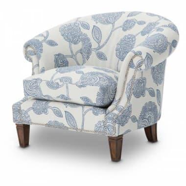 Кресло акцентное  Cornflower Blue