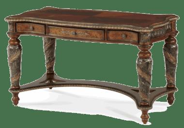 Письменный стол со стеклом
