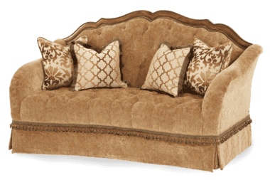 Софа Loveseat стеганая